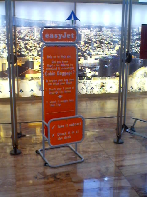 Airplane Baggage Size Standard Or Restrictions Easyjet Com And British Airlines
