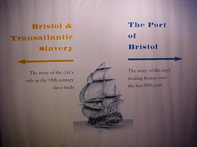 Transatlantic Bridge >> Slaves and Port of Bristol England - Supspension Bridge