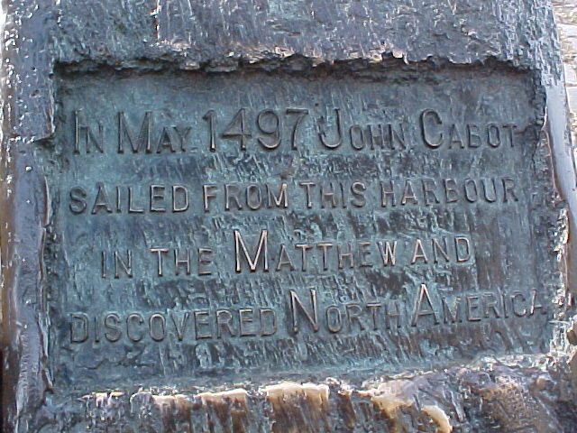In May 497 John Cabot Sailed from ...