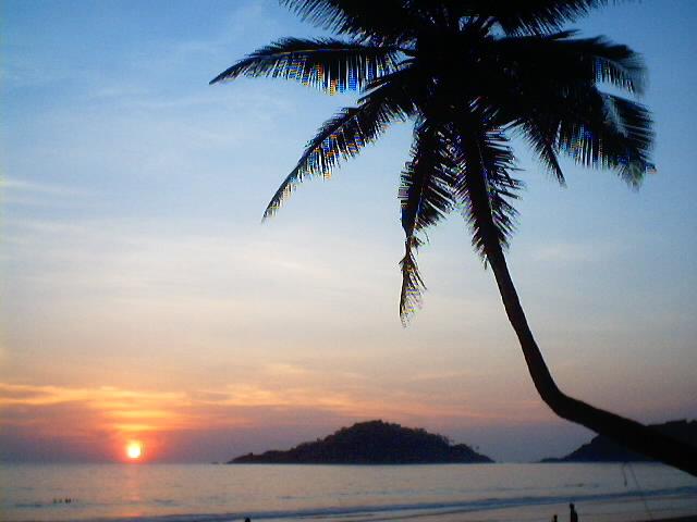 Best Sunset Beach Palolem, Goa India