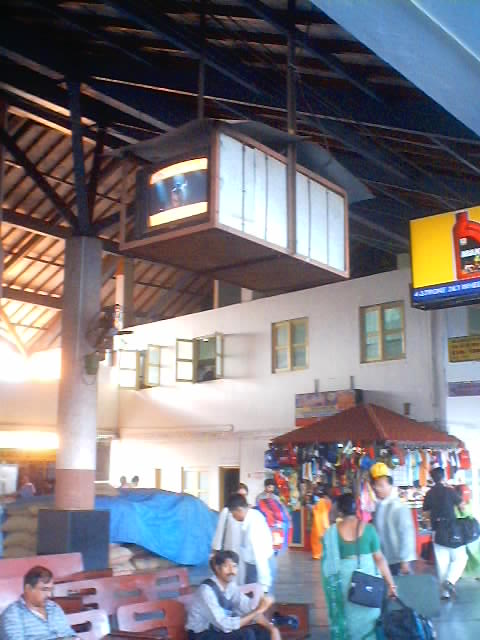 Instruments Motorbikes Train Station Margao India