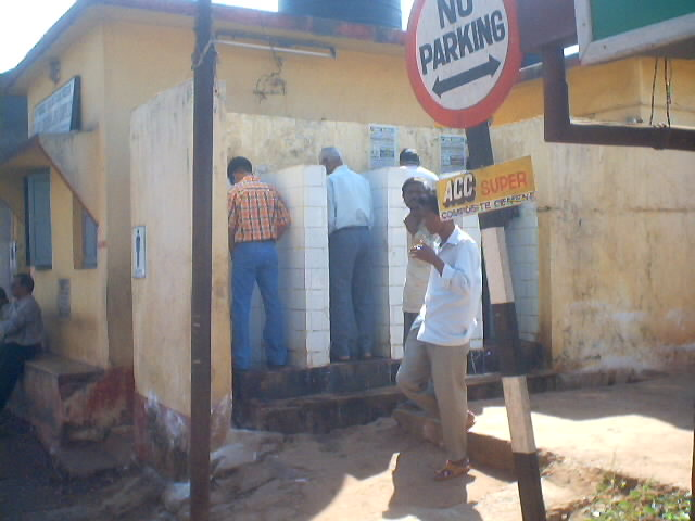 Barber Shop And Shave Public Toilets Lions Club