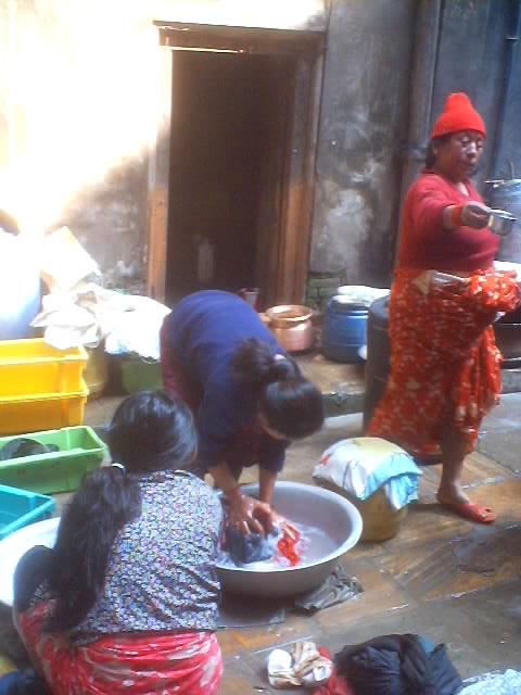 Alcohol Still Or Distilling Of Alcohol In Katmandu Nepal