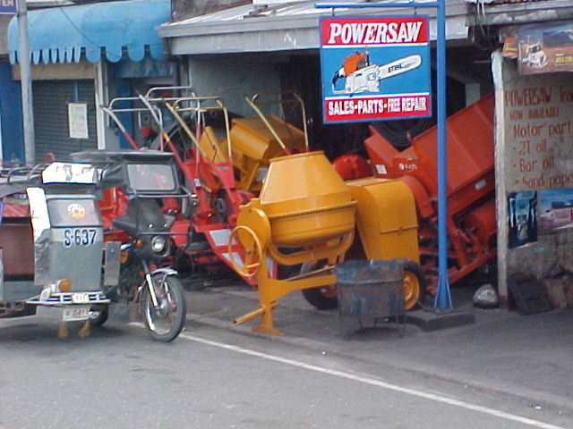 Electric Mortar Mixers for Sale http://www.hobotraveler.com/161philippinesrice_01.shtml