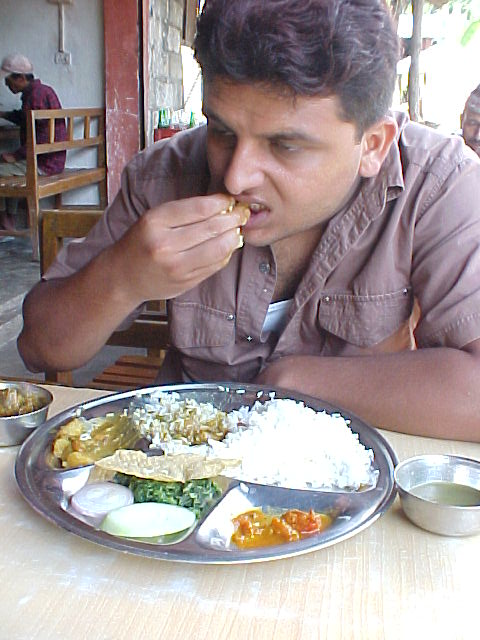 Nepal photos betel chewing american flag for Cuisine you eat with your hands