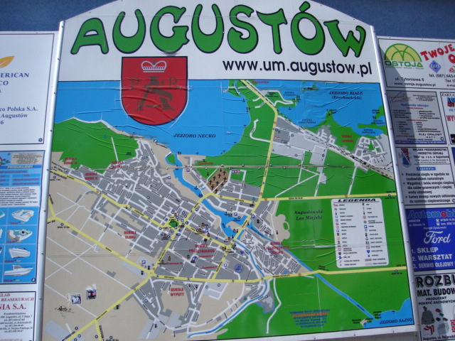 Augustow Poland Map