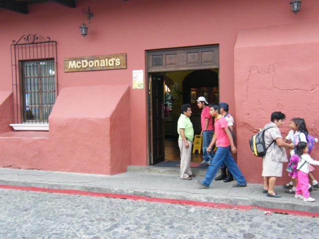 Mcdonalds Antigua Guatemala