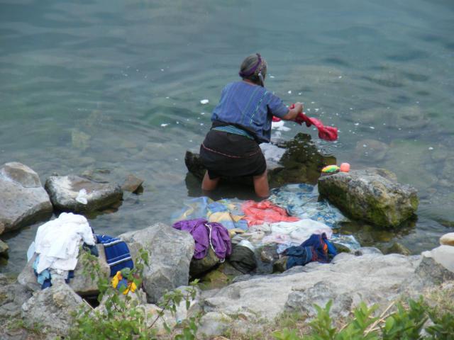Laundry Day In San Antonio Lago Atitlan