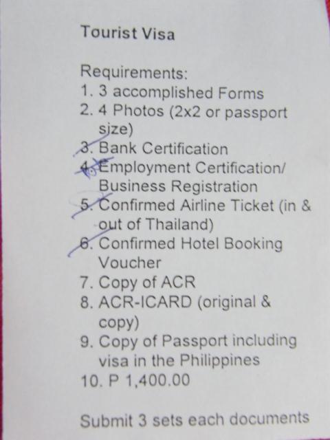 Business Travel Thailand Visa