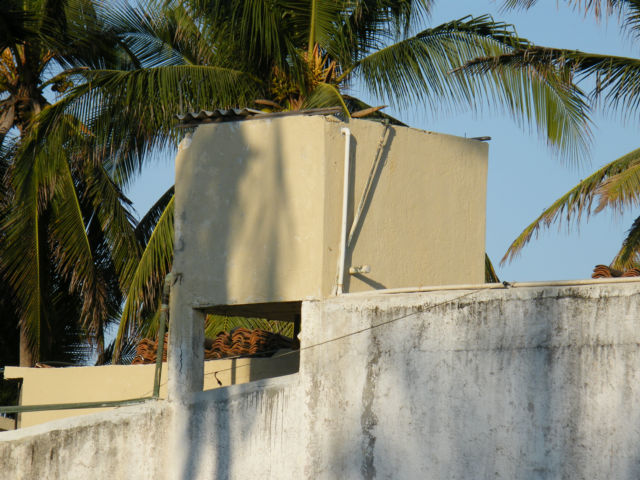how to build a concrete block water tank