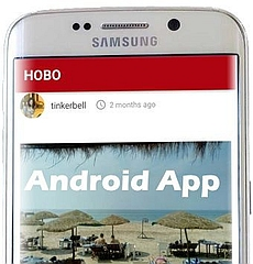 HoboTraveler on Android Google Play Join Travel Community