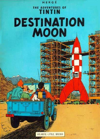 A Life Without Borders Tin Tin to the Moon