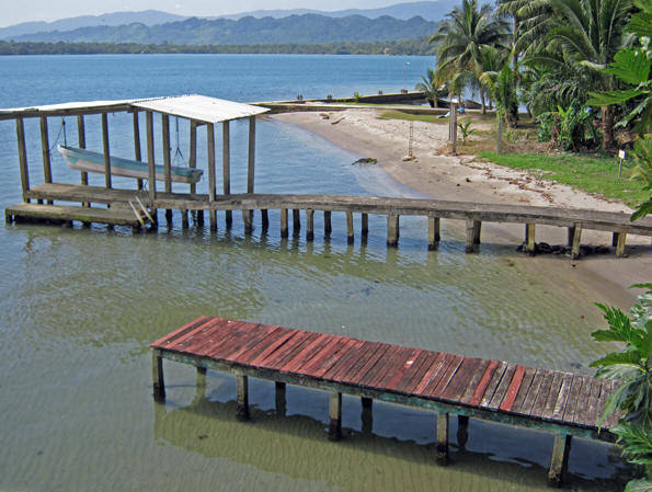 A simple and peaceful dock in Livingston, Guatemala. Very intriguing town to visit if you want to learn about the Garifuna culture.