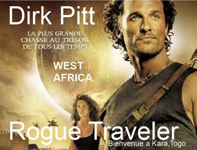 Matthew McConaughey, is a movie version of Dirk Pitt, the Rogue Traveler.