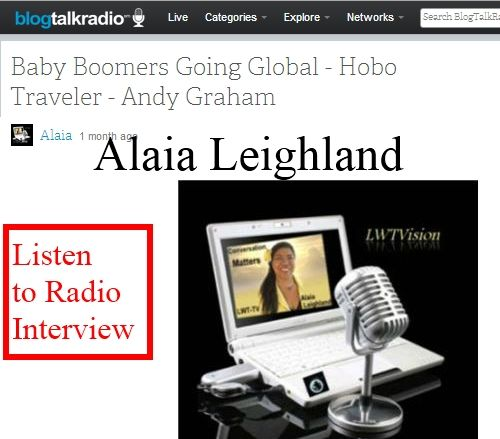 Alaia Leighland Interviews Andy Graham