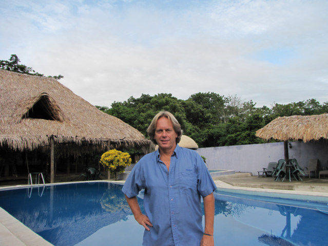 Andy Graham in 8 USD per night Room in Rio Dulce Guatemala with WIFI Internet.