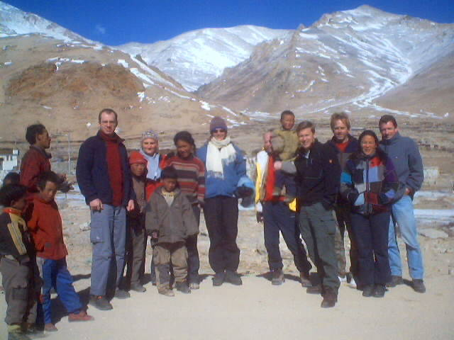 Andy Graham with Tour group in Tibet, China.