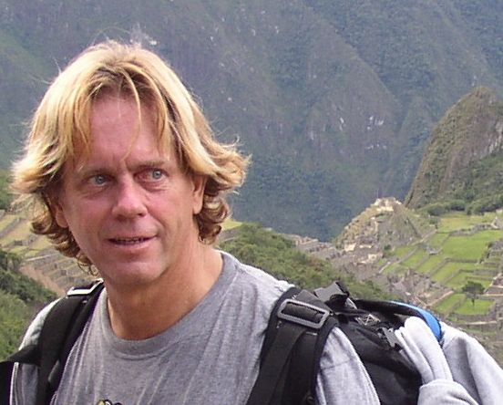 Andy Graham in Machu Picchu