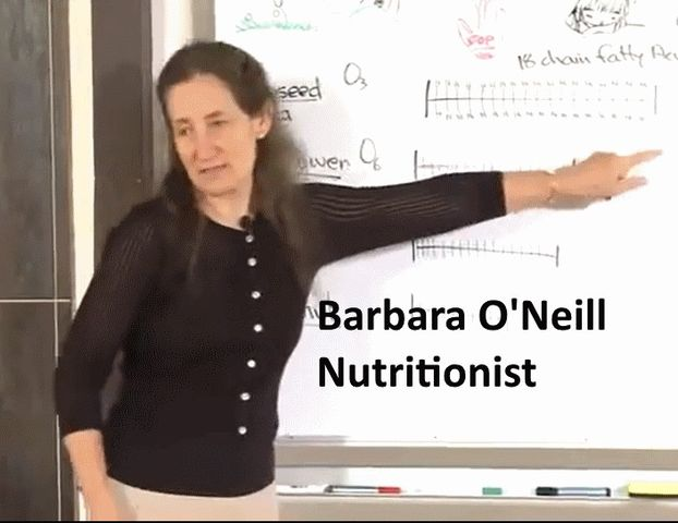I have decided that Barbara O'Neill appears to be the most level headed, insightful, and safest to follow nutritionist. title=