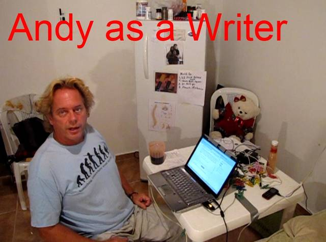 Andy in Writers Mode