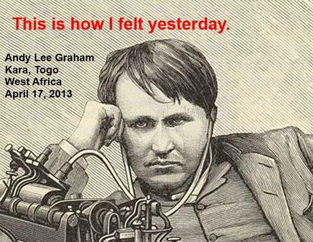 Andy Graham thomas edison