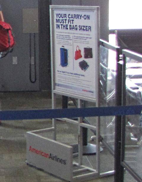 Buy Extra Baggage American Airlines Sema Data Co Op