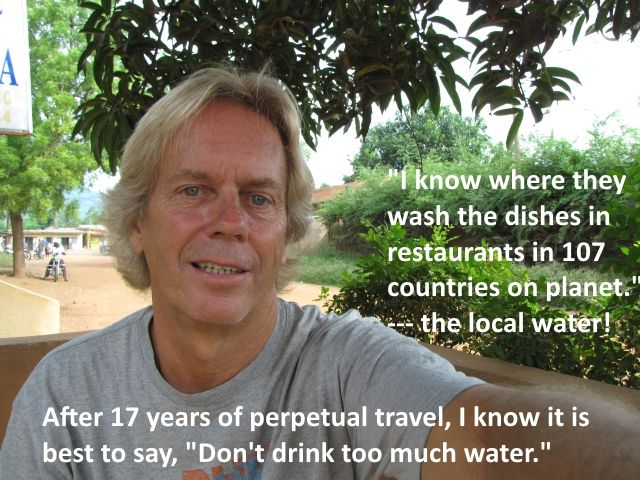 Andy Lee Graham Drinks Water in 100 Countries