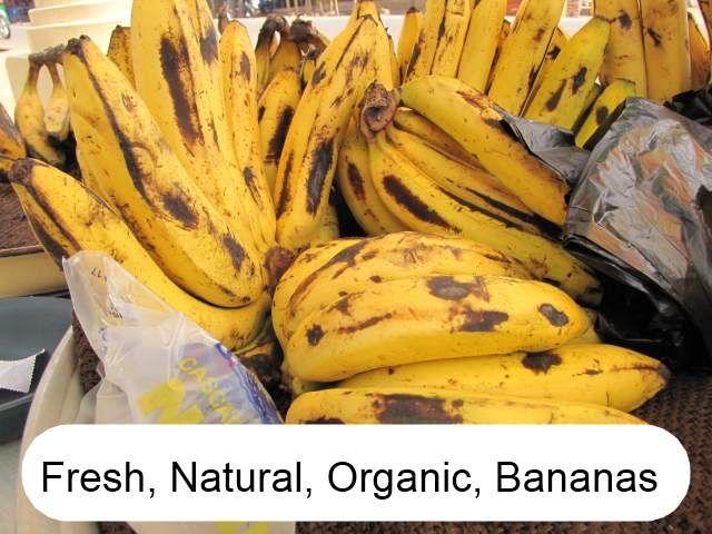 Natural Bananas