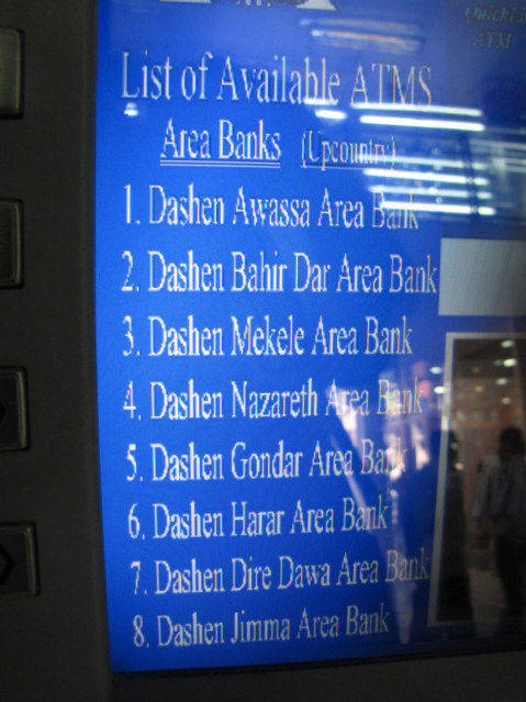 List of ATM or Bank Machines title=