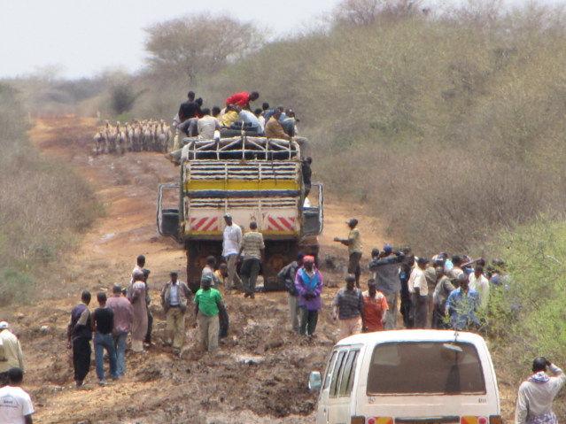 Moyale Kenya Truck Trip
