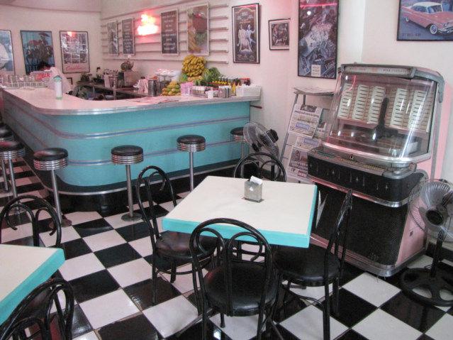 50s Diner in Baguio Philippines Luzon Island
