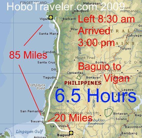 Baguio To Vigan Philippines Bus