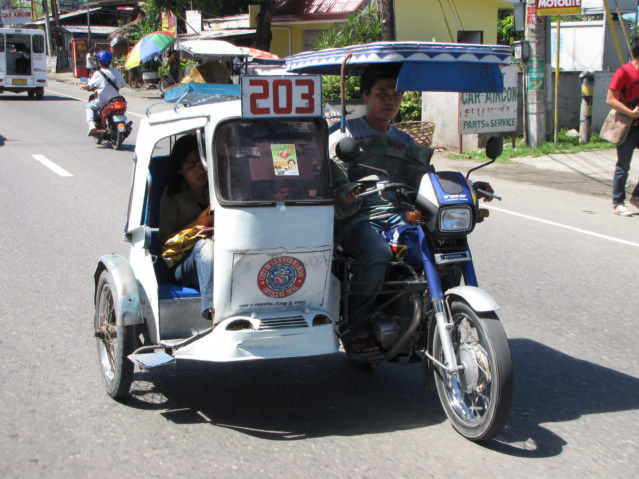 Tricycle Taxis are Hated in Philippines