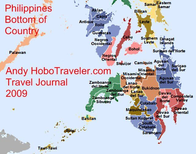 map of provinces of philippines