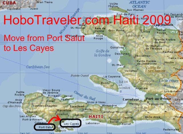 Traveled To Les Cayes Haiti - Haiti and the us map