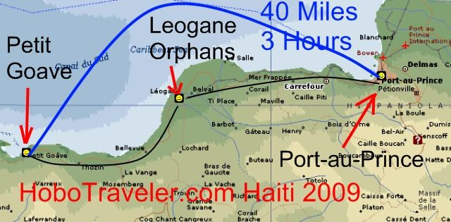 Haiti Travel Stories Page - Map of haiti in relation to us