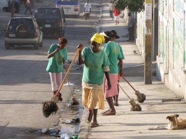 Haiti Organized Trash Management