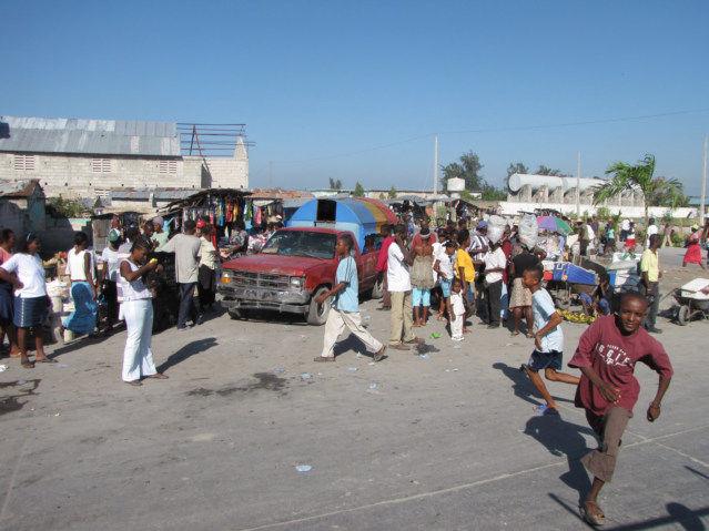 Vigilantes in Cite Soleil Haiti