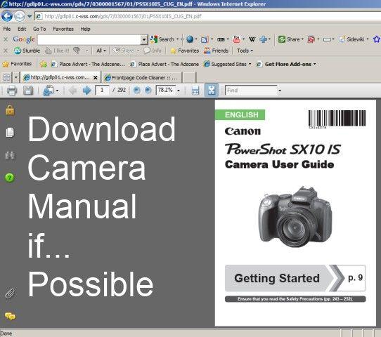 Finepix s5600 Repair manual