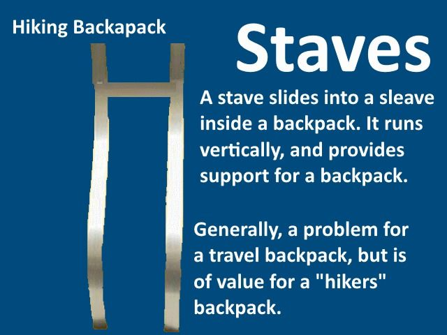 Backpack Stave