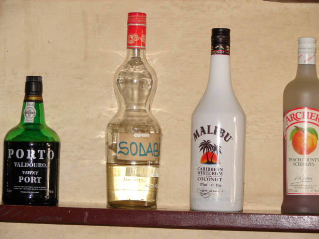 Local and Imported Alcohol Drink