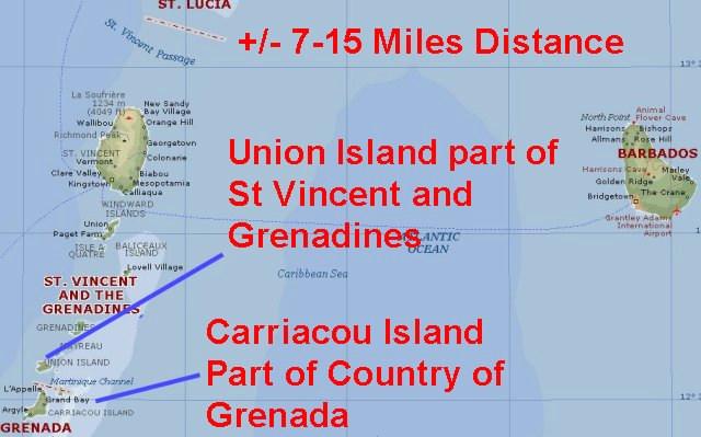 Cartes Des Iles De La Grenade Maps Of Grenada Islands - Map of grenada caribbean islands