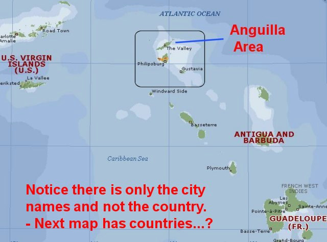 Map Of Puerto Rico With Cities. MAP OF CITIES ON MAP (2)