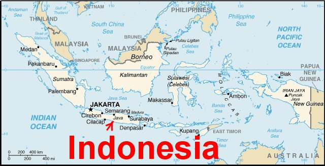 Map Of Indonesia - Map Of Indonesia, Nepal