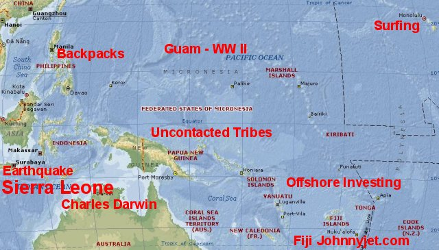 map of papua new guinea and australia. or Papua New Guinea.