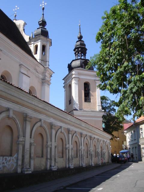 Vilnius Lithuania Church Photos