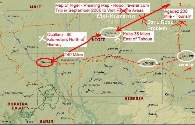 Niger Trip Plan