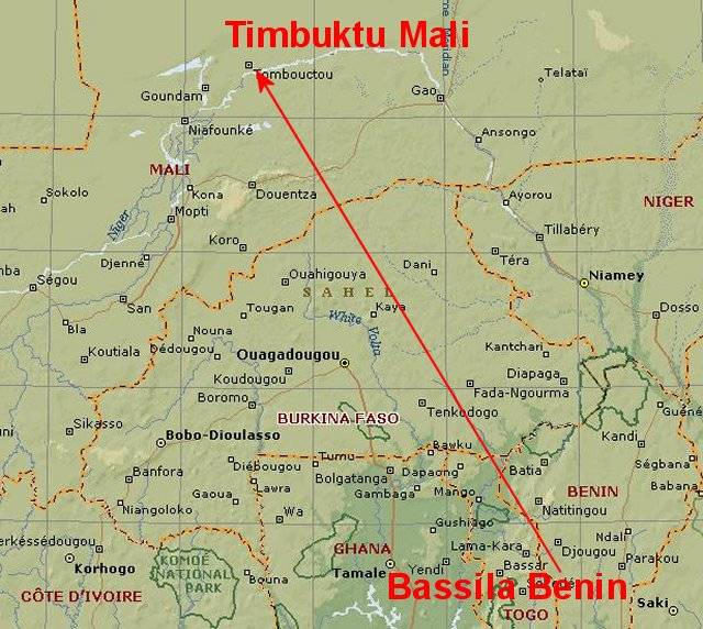 Timbuktu Location On World Map.Timbuktu The Phrase Kicks In