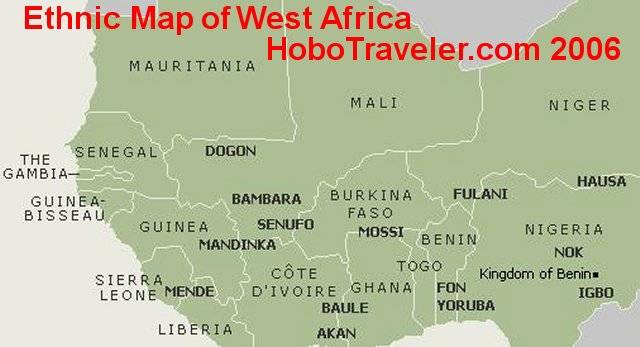 Benin Togo Ethnic Groups   Ethnic Map West Africa, Benin