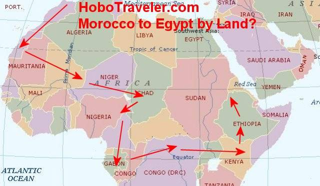 trip morocco to egypt by land morocco to egypt map benin